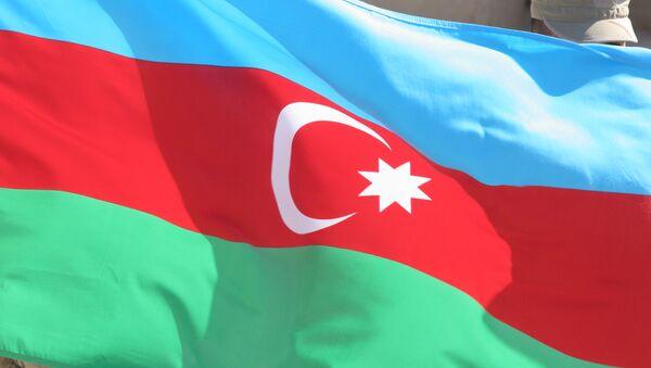 La bandera de Azerbaiyán  - Sputnik Mundo