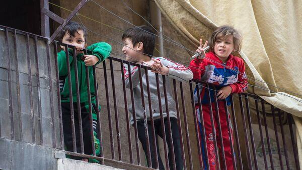 Niños sirios - Sputnik Mundo