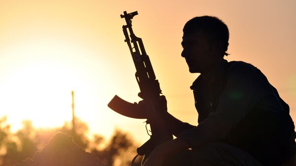 Un soldado en Siria (Archivo) - Sputnik Mundo