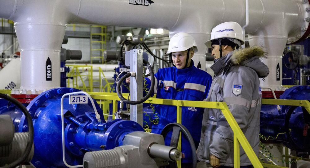 Extracción de crudo en Rusia