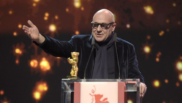 Gianfranco Rosi, director de 'Fuocoammare' - Sputnik Mundo