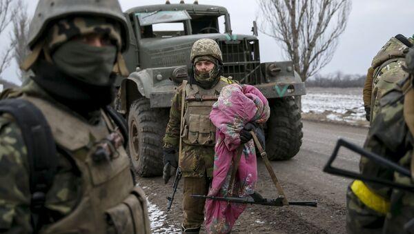 Soldados del Ejército de Ucrania (archivo) - Sputnik Mundo