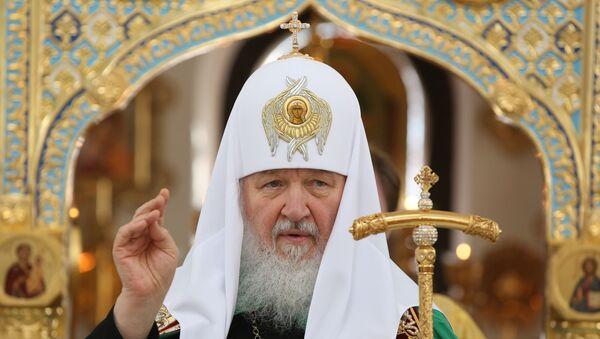 Patriarca ruso Kiril - Sputnik Mundo