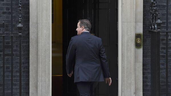 David Cameron, primer ministro británico - Sputnik Mundo
