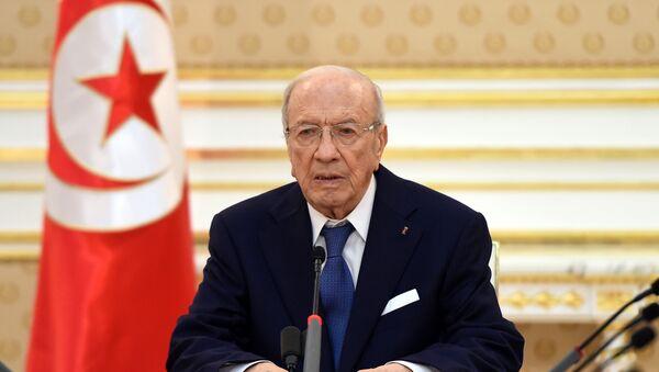 Beji Caid Essebsi, presidente de Túnez - Sputnik Mundo