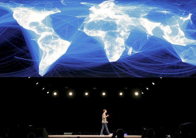 Mark  Zuckerberg, fundador de Facebook, en el Mobile World Congress 2016 en Barcelona