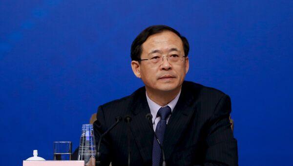 Liu Shiyu, jefe de la Comisión Reguladora de Valores de China - Sputnik Mundo