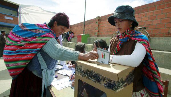 Gobierno de Bolivia busca enfrentar campo y ciudad - Sputnik Mundo