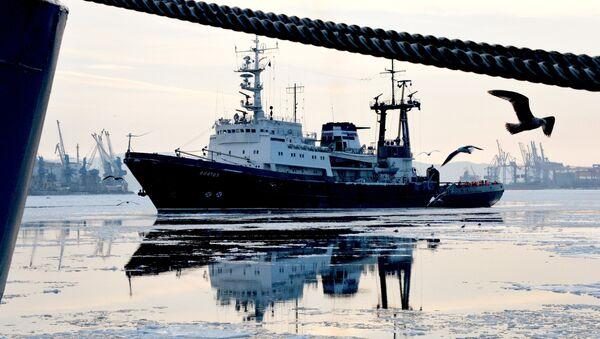 Flota rusa del Pacífico - Sputnik Mundo