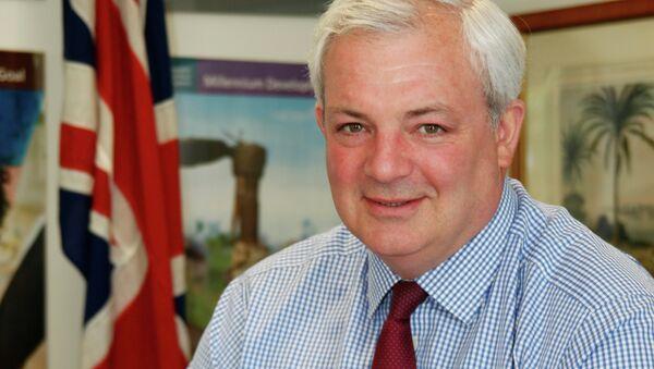 Stephen O'Brien, el titular de la Oficina de Coordinación de Asuntos Humanitarios de Naciones Unidas - Sputnik Mundo