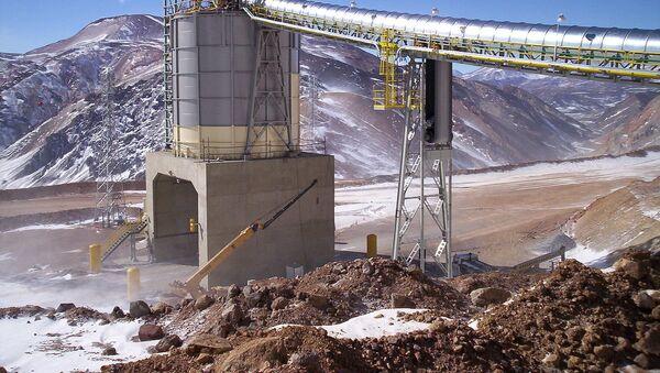La mina Veladero, San Juan, Argentina - Sputnik Mundo