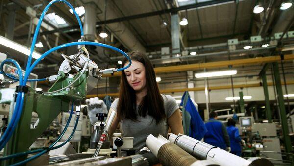 Fabricación de automóviles AvtoVAZ en la ciudad rusa de Togliatti - Sputnik Mundo
