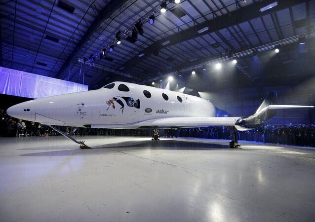 La nueva nave para turismo espacial