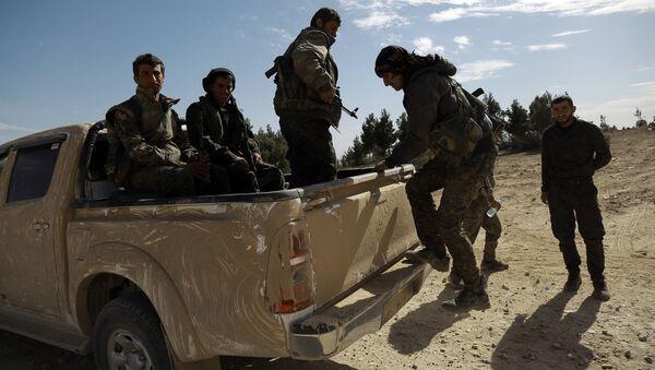 Militantes de la Fuerzas Democráticas Sirias (archivo) - Sputnik Mundo