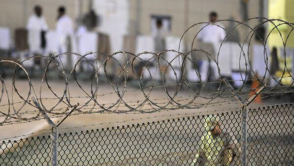 Сampo de detención de Guantánamo (archivo) - Sputnik Mundo
