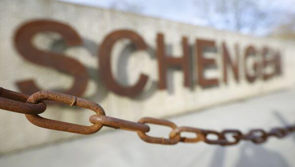 Espacio Schengen (imagen ilustrativa) - Sputnik Mundo
