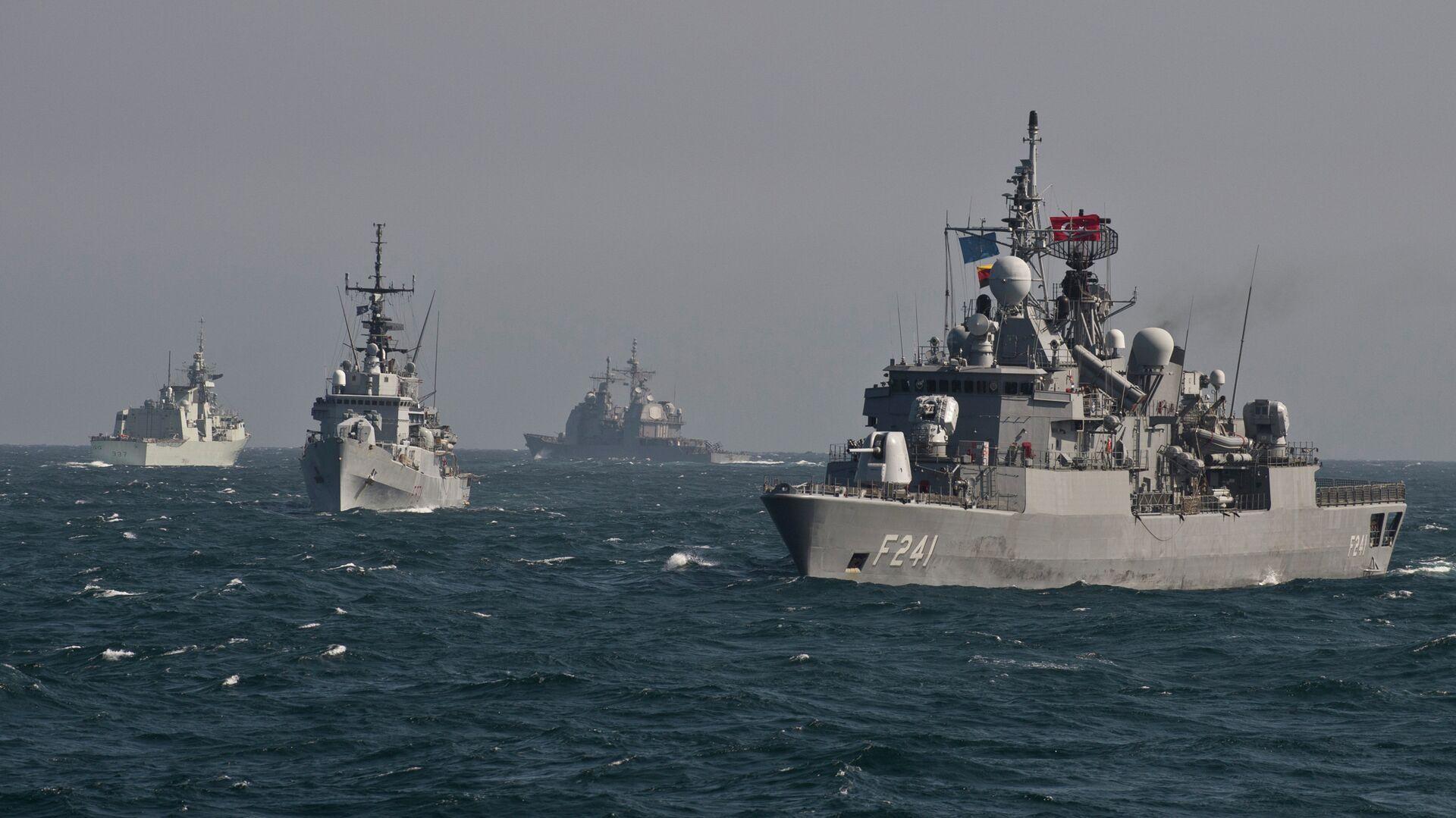 Buques de la OTAN en el mar Negro - Sputnik Mundo, 1920, 05.08.2021