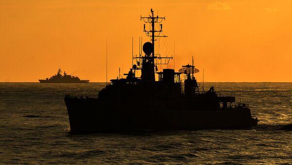 Buques de la OTAN en el Mediterráneo (archivo) - Sputnik Mundo