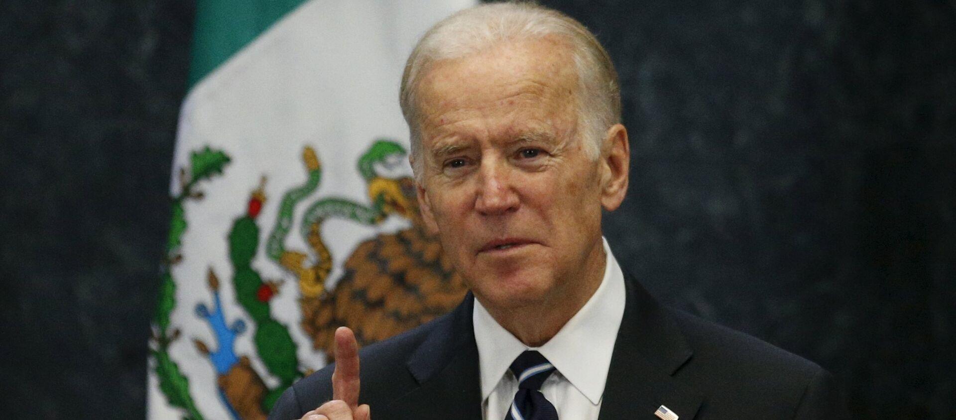 U.S. Vice President Joe Biden delivers a speech - Sputnik Mundo, 1920, 21.08.2020