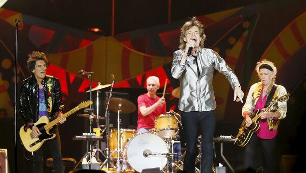 La banda de rock The Rolling Stones - Sputnik Mundo
