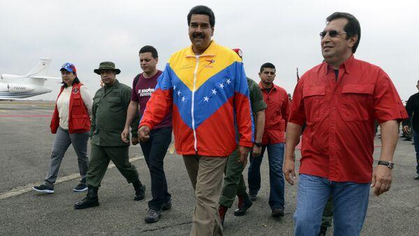 Nicolás Maduro, presidente de Venezuela, y Adán Chávez, Ministro de Cultura de Venezuela - Sputnik Mundo