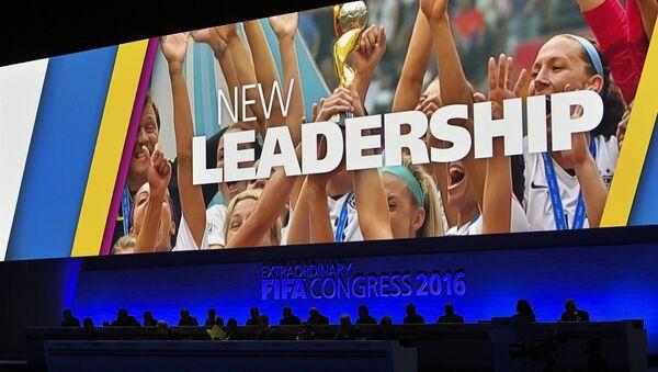 Las elecciones del presidente de FIFA, el 26 de febrero de 2016 - Sputnik Mundo