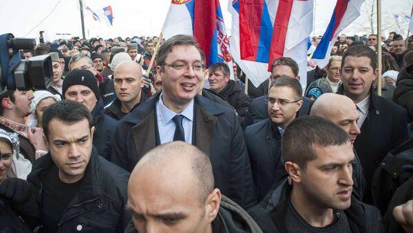 Aleksandr Vucic, primer ministro de Serbia - Sputnik Mundo