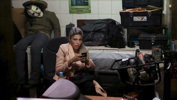 Gabriela Zapata, expareja de presidente boliviano Evo Morales - Sputnik Mundo