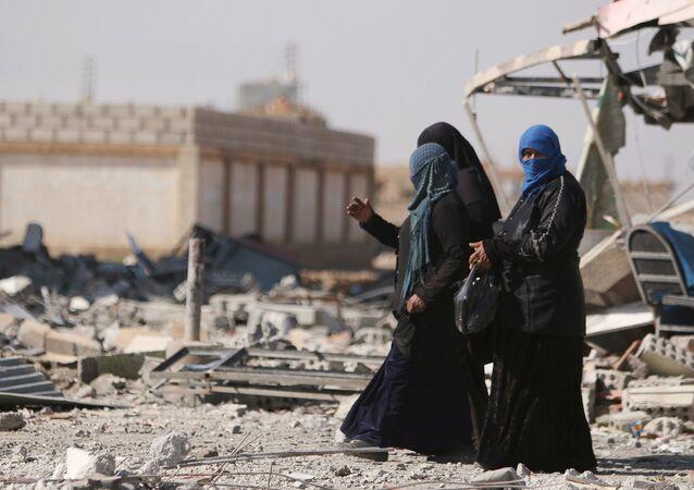 Mujeres sirias