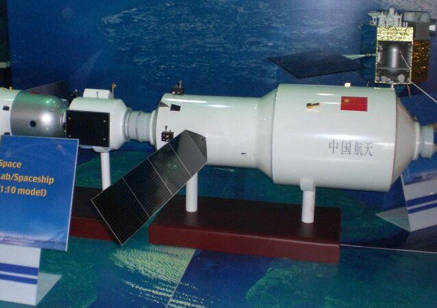 Modelo del Tiangong-2 (archivo)