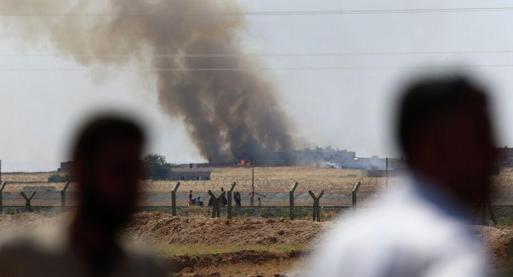 Bombardeos de la aviación estadounidense en Siria (Archivo)