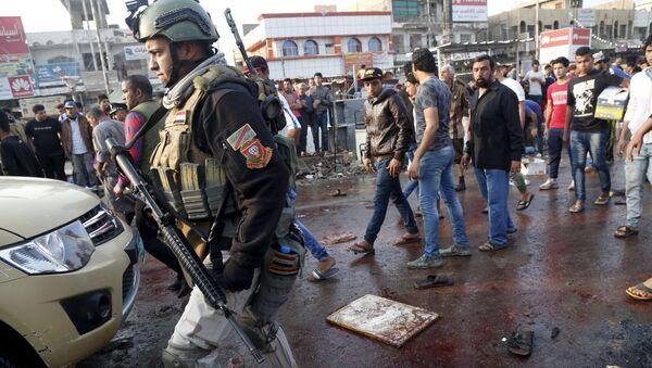 Atentados suicidas en Bagdad - Sputnik Mundo