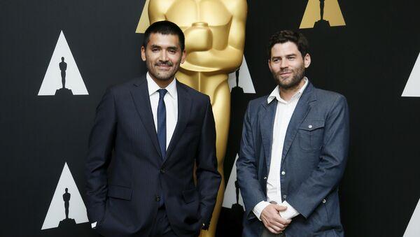 Director Gabriel Osorio  y productor Pato Escala - Sputnik Mundo