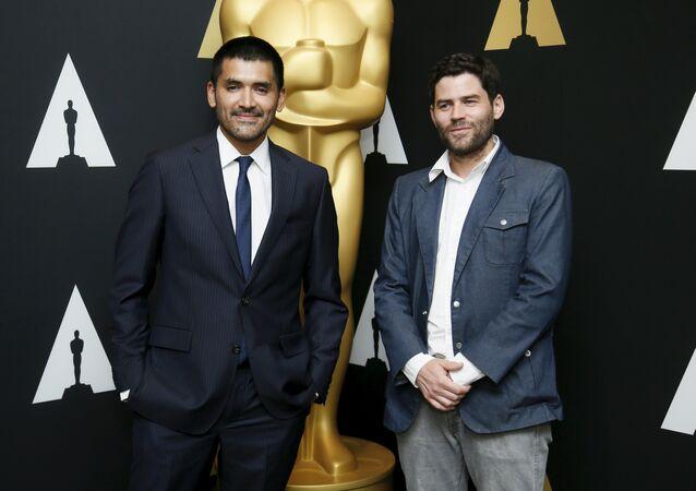 Director Gabriel Osorio  y productor Pato Escala