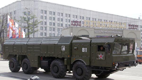 El sistema de misiles tácticos Iskander-M - Sputnik Mundo