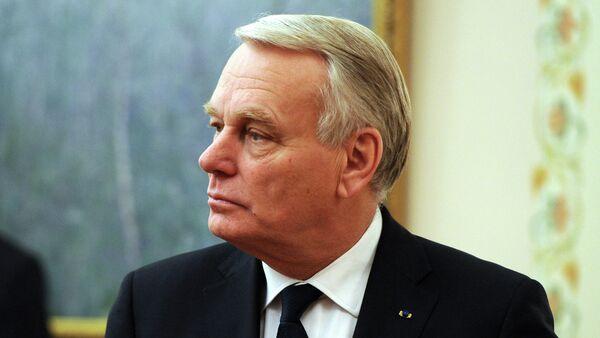 Jean-Marc Ayrault, el ministro de Exteriores galo - Sputnik Mundo