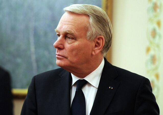 Jean-Marc Ayrault, el ministro de Exteriores galo