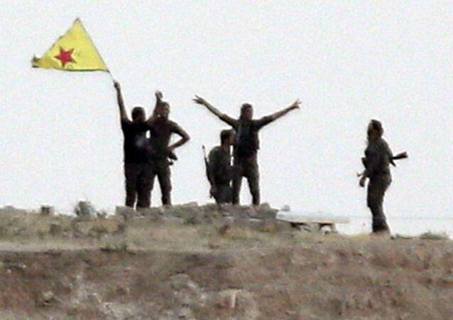 Los kurdos de las Unidades kurdas de Protección Popular (YPG) (archivo)