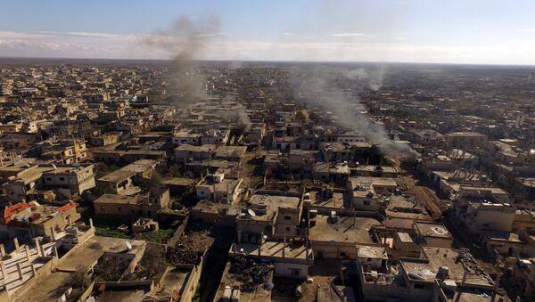 La ciudad de Al-Shaykh liberada en la provincia siria de  Daraa - Sputnik Mundo