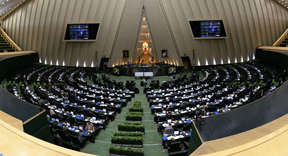 El Parlamento de Irán (archivo)