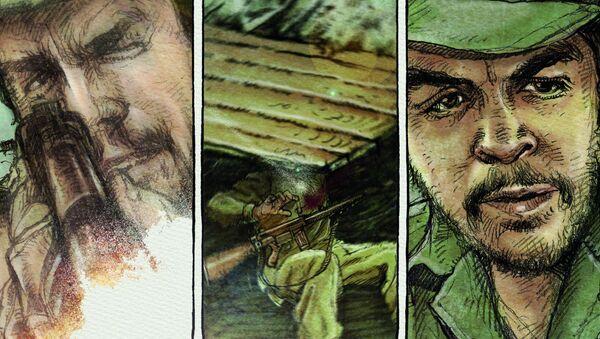 Che. Una vida revolucionaria, novela gráfica publicada por Sexto Piso - Sputnik Mundo