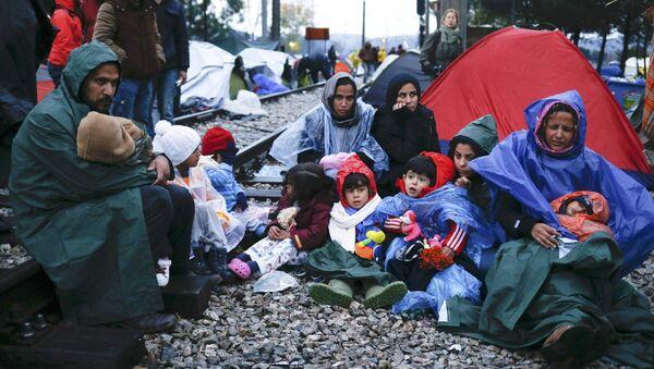 Migrantes en Europa - Sputnik Mundo