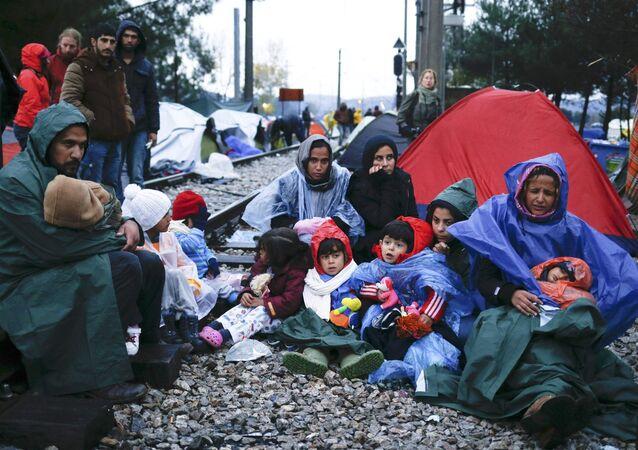 Migrantes en Europa