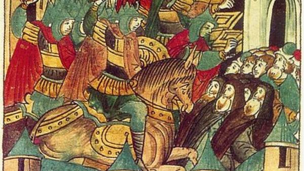 Sitio de Súzdal por Batú Kan, 1238 (miniatura) - Sputnik Mundo