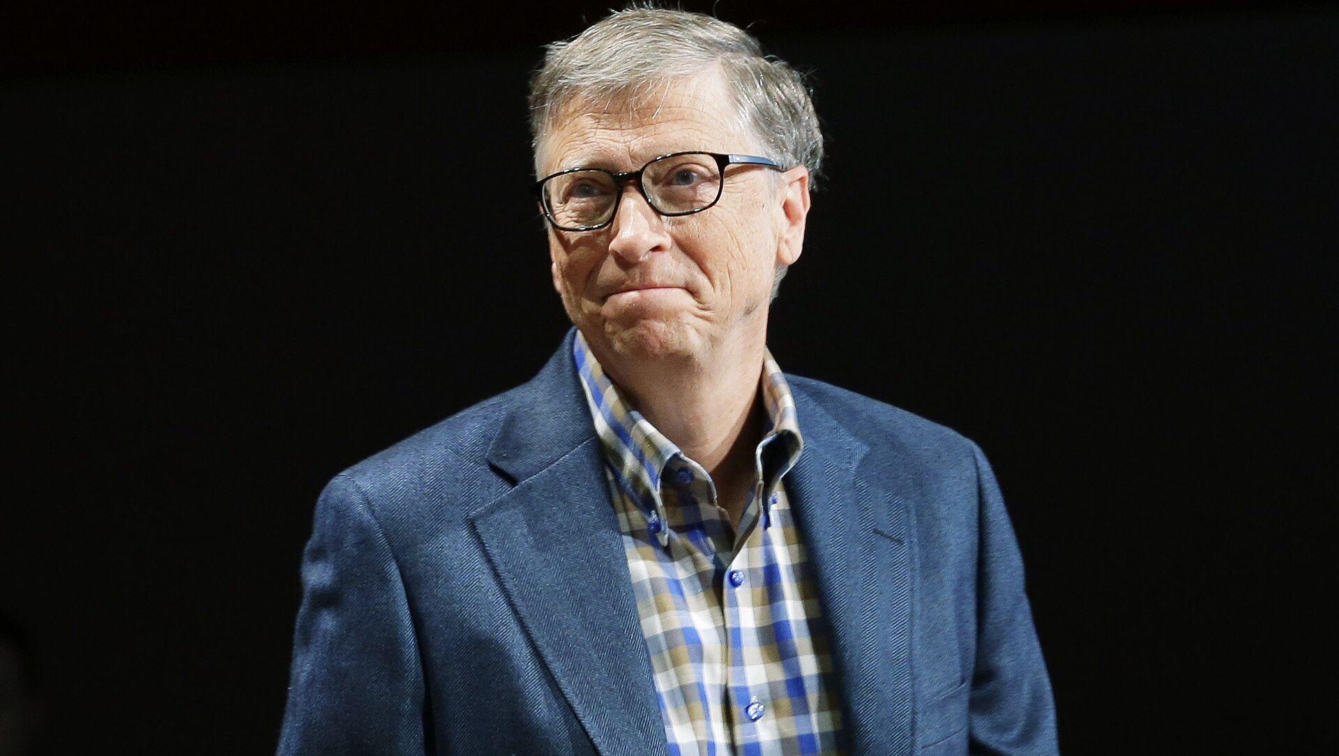 Bill Gates, cofundador de Microsoft  - Sputnik Mundo, 1920, 27.01.2021