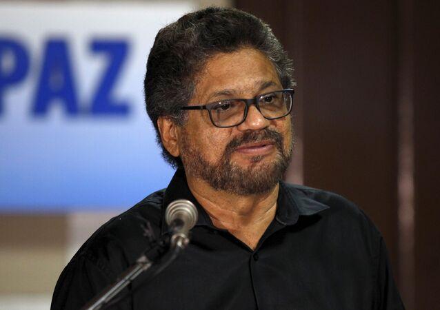 Iván Márquez, jefe de la guerrilla FARC (foto de archivo)