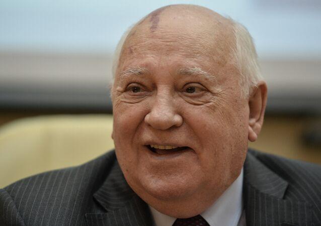 Mijaíl Gorbachov, expresidente de la URSS