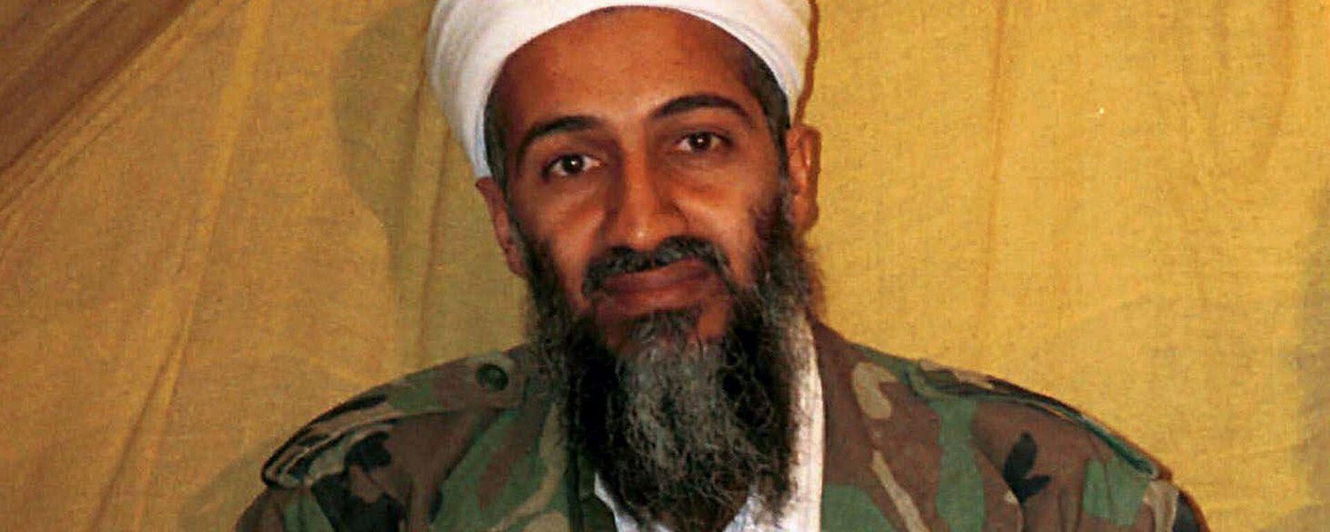 Osama bin Laden, exlíder del grupo terrorista Al Qaeda - Sputnik Mundo, 1920, 02.08.2021