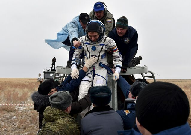 Participantes de una misión anual volvieron a la Tierra de la EEI