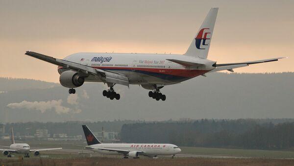 El avión de Malaysia Airlines - Sputnik Mundo